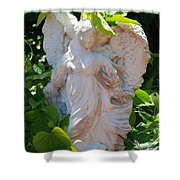Garden Angel Shower Curtain