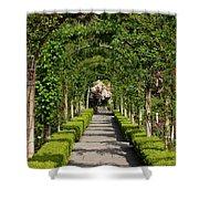 Garden Arbor Path Shower Curtain