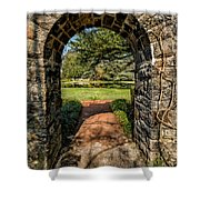 Garden Archway Shower Curtain