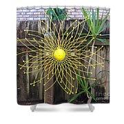 Yellow Sunflower Garden Art Shower Curtain