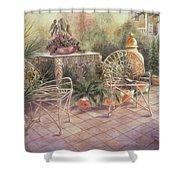 Garden At Linwood  Shower Curtain