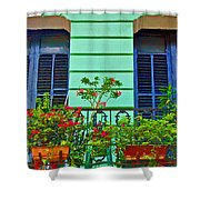 Garden Balcony Shower Curtain