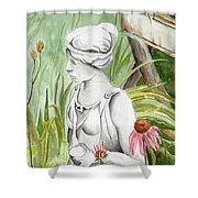 Garden Beauty Shower Curtain