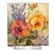 Garden Beauty-jp2955b Shower Curtain