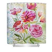 Garden Beauty-jp2957b Shower Curtain