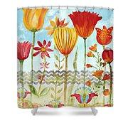 Garden Beauty-jp2960 Shower Curtain