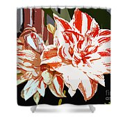 Garden Beauty Work Number 30 Shower Curtain