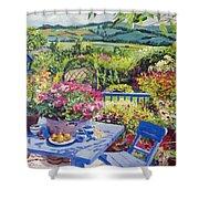 Garden Country Shower Curtain