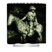Garden Cowboy Shower Curtain