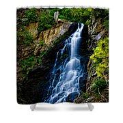 Garden Creek Falls Shower Curtain