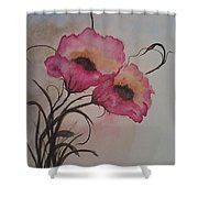 Garden Delight Shower Curtain by Ginny Youngblood