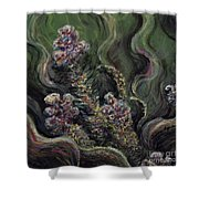 Garden Delights Shower Curtain