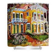 Garden District Home  Shower Curtain