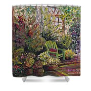 Garden Escape Shower Curtain