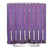 garden Fence Shower Curtain