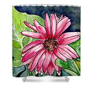 Garden Flower Shower Curtain
