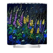 Garden Flowers 679080 Shower Curtain