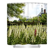 Garden Flowers At The Governor's Palace Shower Curtain