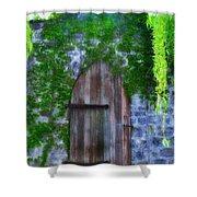 Garden Gate At The Highlands Shower Curtain