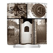 Garden Gates Shower Curtain