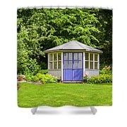 Garden Gazebo House Shower Curtain