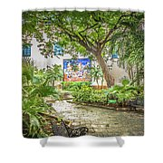 Garden In The Square Shower Curtain