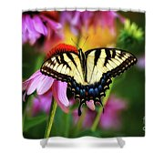 Garden Jewelry Shower Curtain