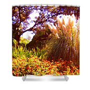 Garden Landscape Shower Curtain