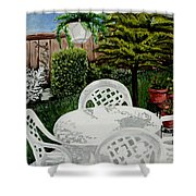 Garden Lights Shower Curtain