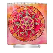 Garden Mandala Shower Curtain