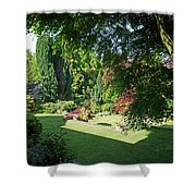 Garden Morning Shower Curtain