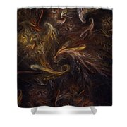 Garden Of Earthly Delight  Shower Curtain