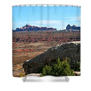 Garden Of Eden Rock Formations, Arches National Park, Moab Utah Shower Curtain
