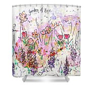 Garden Of Hope  Shower Curtain