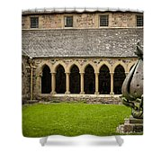 Garden Of Iona Abbey2 Shower Curtain