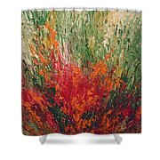 Garden Of Memories 3 Shower Curtain