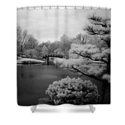 Garden Of Pure Clear Harmony Shower Curtain