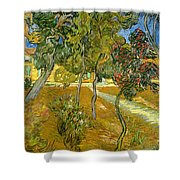 Garden Of Saint Paul's Hospital Shower Curtain