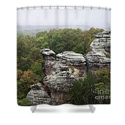 Garden Of The Gods Shower Curtain by Andrea Silies