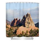 Garden Of The Gods Colorado Springs Shower Curtain