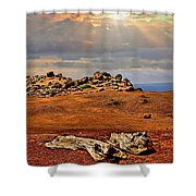 Garden Of The Gods Lanai Shower Curtain