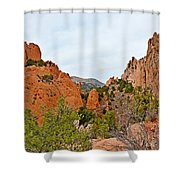 Garden Of The Gods Study 6 Shower Curtain