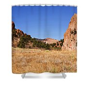 Garden Of The Gods View Shower Curtain
