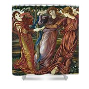 Garden Of The Hesperides Shower Curtain