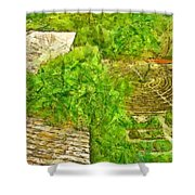 Garden Of The Simple Shower Curtain