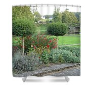 Garden On The Banks Of The Nore Shower Curtain