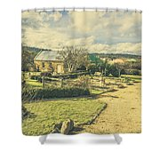 Garden Paths And Courtyards Shower Curtain