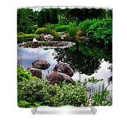 Garden Reflections ... Shower Curtain