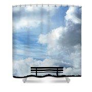 Garden Seat Shower Curtain