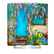 Garden Secrets - Wisteria Shower Curtain